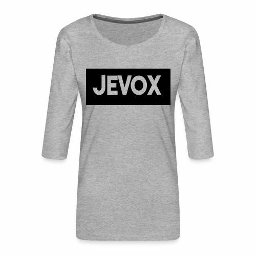 Jevox Black - Vrouwen premium shirt 3/4-mouw