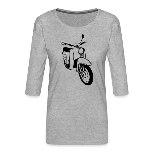 Simson Schwalbe - Frauen Premium 3/4-Arm Shirt