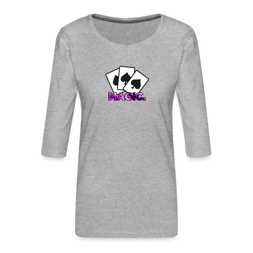 Magic! - Women's Premium 3/4-Sleeve T-Shirt