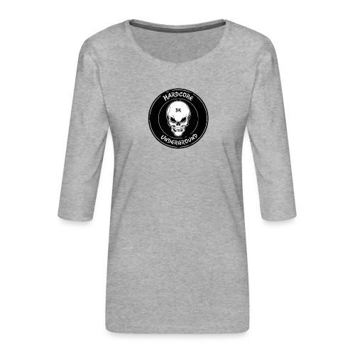 UndergrounDK Clothing est. 2017 - Dame Premium shirt med 3/4-ærmer