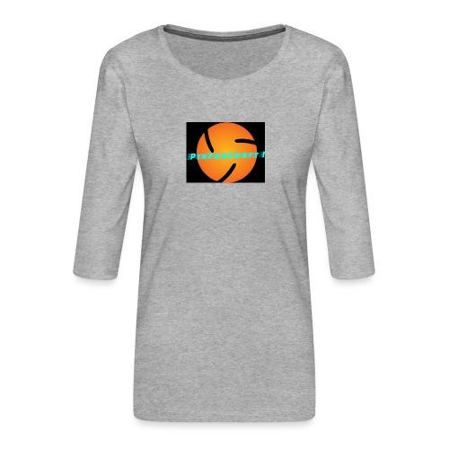 LOGO PixForCraft (Le logo de Juin 2017) - T-shirt Premium manches 3/4 Femme
