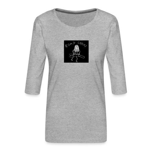 Road_Crew_Guitars - Women's Premium 3/4-Sleeve T-Shirt