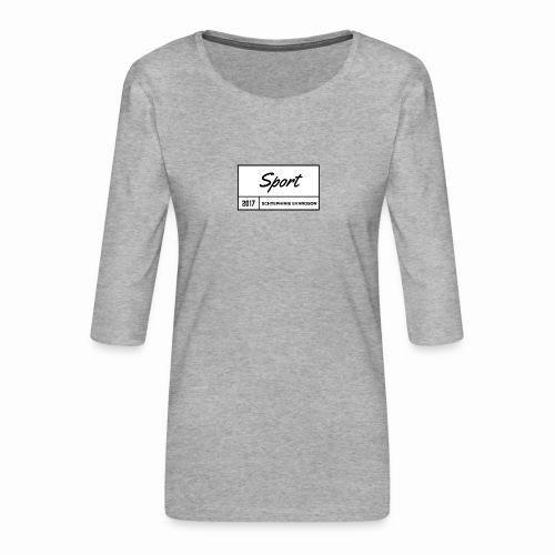 Schtephinie Evardson Sporting Wear - Women's Premium 3/4-Sleeve T-Shirt