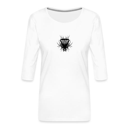 Unsafe_Gaming - Vrouwen premium shirt 3/4-mouw