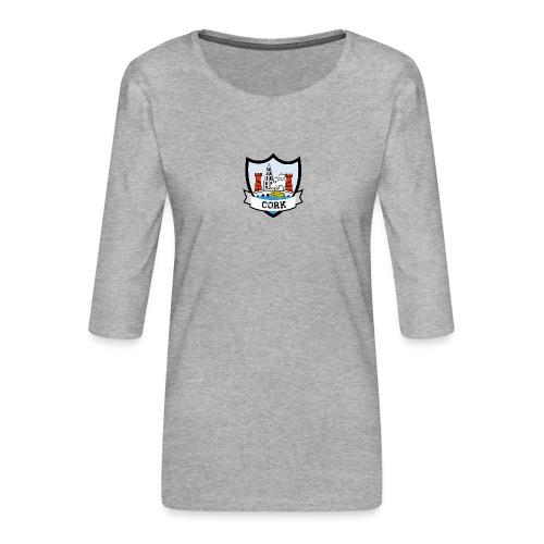 Cork - Eire Apparel - Women's Premium 3/4-Sleeve T-Shirt