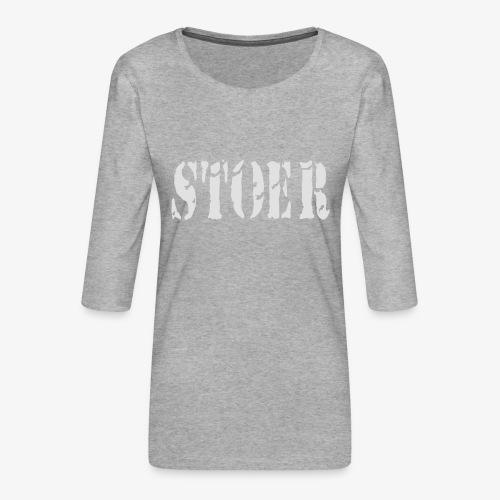stoer tshirt design patjila - Women's Premium 3/4-Sleeve T-Shirt