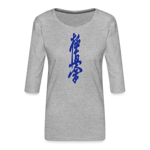 KyokuShin - Vrouwen premium shirt 3/4-mouw