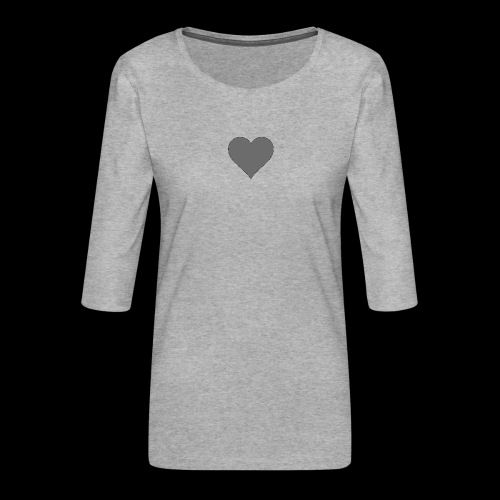 hearth design tee - Dame Premium shirt med 3/4-ærmer