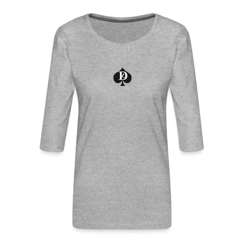 GRIGIO SWEAT DEL LUOGO - Women's Premium 3/4-Sleeve T-Shirt