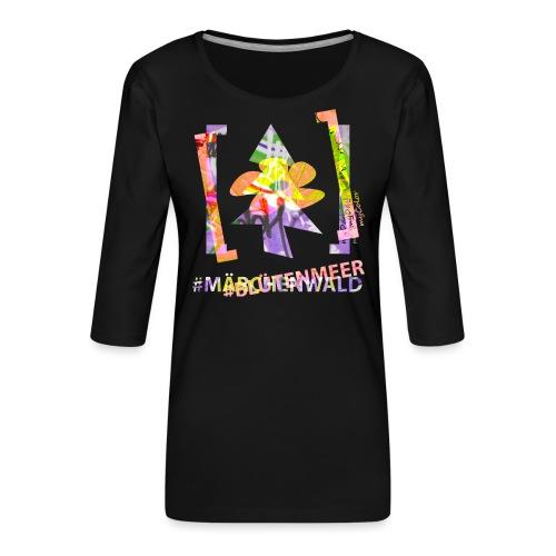 art.4.nature #MärchenMeer - Frauen Premium 3/4-Arm Shirt