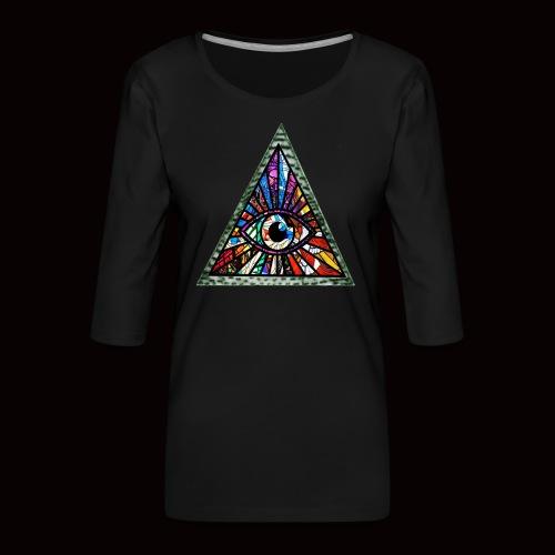 ILLUMINITY - Women's Premium 3/4-Sleeve T-Shirt