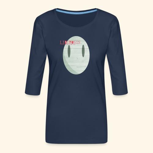 Lberosis - Premium-T-shirt med 3/4-ärm dam