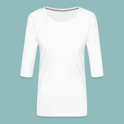 I'd rush you! White Version - Frauen Premium 3/4-Arm Shirt