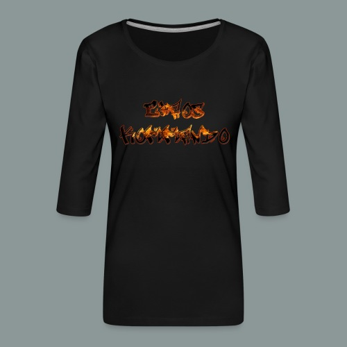 chaos - Frauen Premium 3/4-Arm Shirt