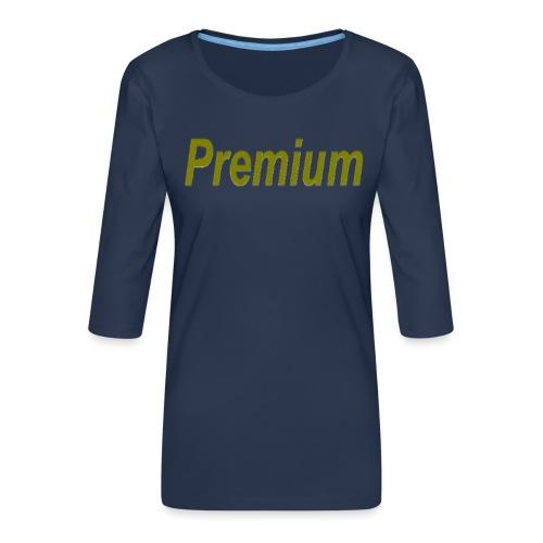 Premium - Women's Premium 3/4-Sleeve T-Shirt