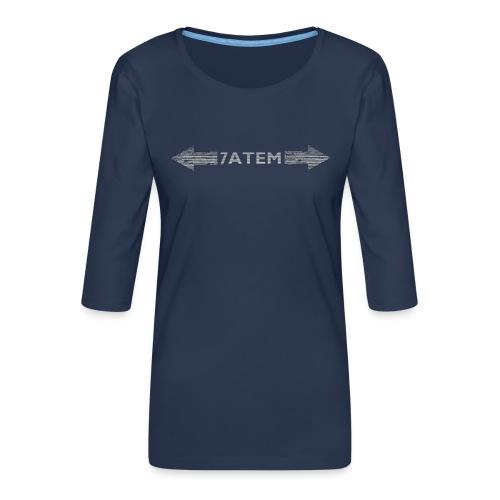 7ATEM - Dame Premium shirt med 3/4-ærmer
