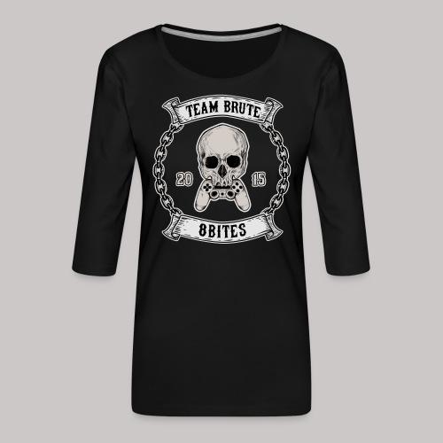 8 Bites MC - Women's Premium 3/4-Sleeve T-Shirt