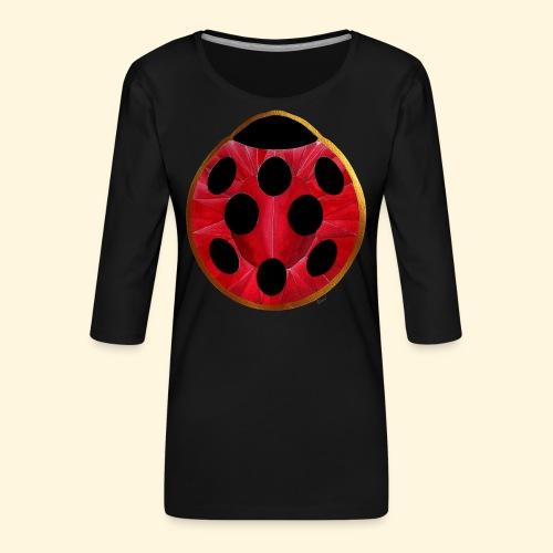 Joyaux coccinelle - T-shirt Premium manches 3/4 Femme