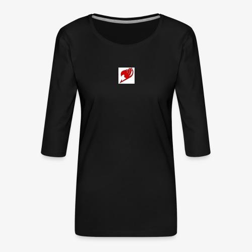 logo fairy tail - T-shirt Premium manches 3/4 Femme