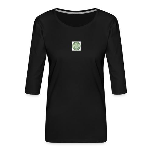 200px-Eye-jpg - T-shirt Premium manches 3/4 Femme
