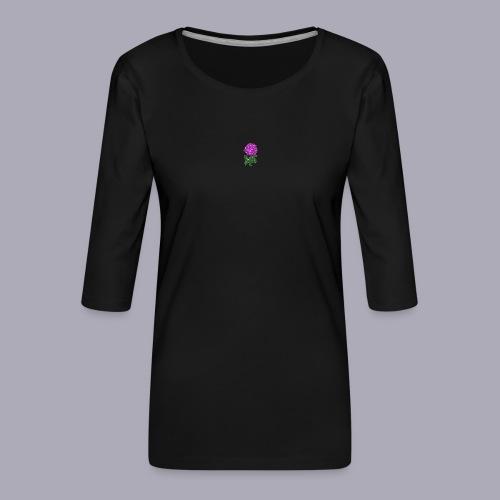 Landryn Design - Pink rose - Women's Premium 3/4-Sleeve T-Shirt