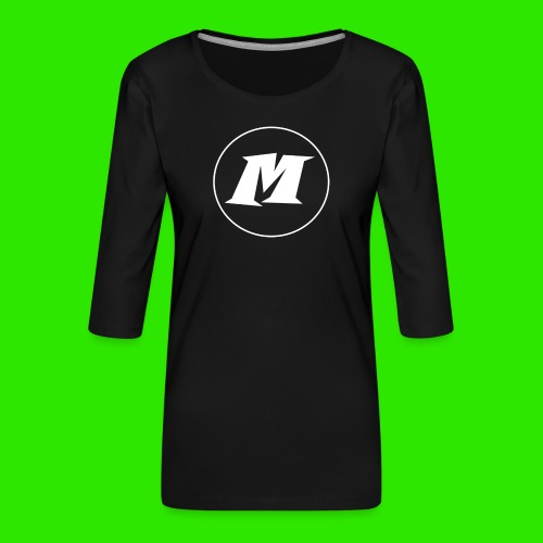 streatwear kleding - Vrouwen premium shirt 3/4-mouw