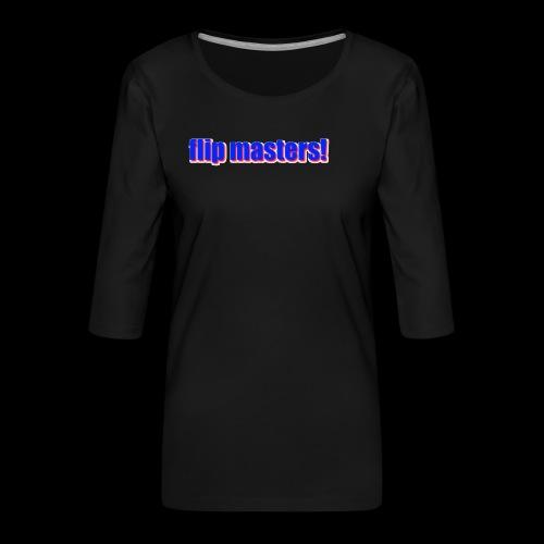 sappig - Vrouwen premium shirt 3/4-mouw