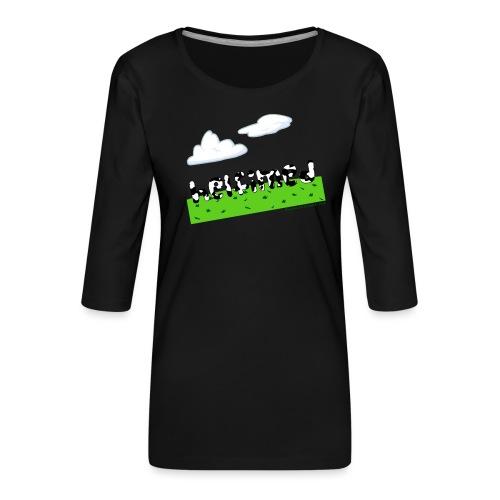 helfimed - Women's Premium 3/4-Sleeve T-Shirt