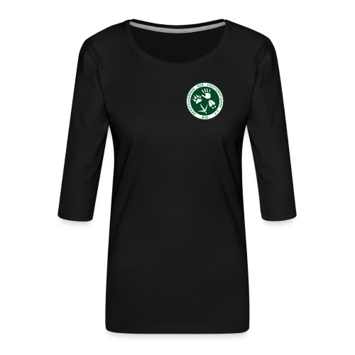 BdZ Logo - Frauen Premium 3/4-Arm Shirt