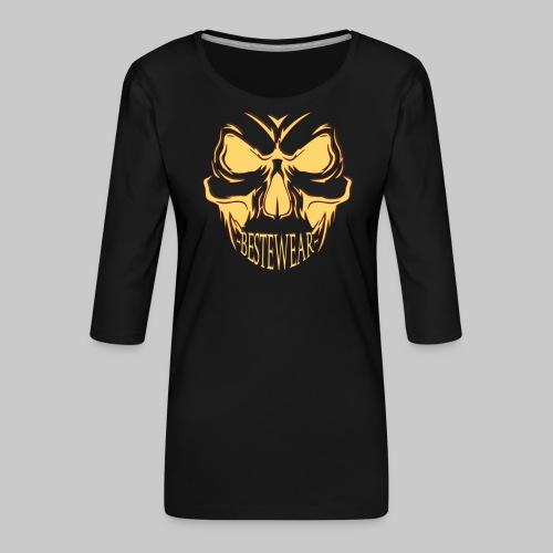 #Bestewear - Bad Punisher - Frauen Premium 3/4-Arm Shirt