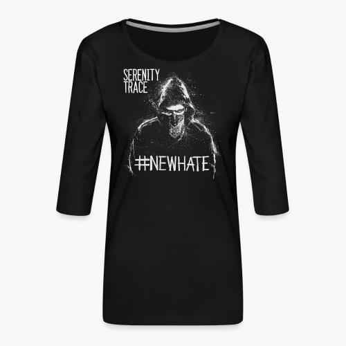 #NewHate Male - Premium T-skjorte med 3/4 erme for kvinner