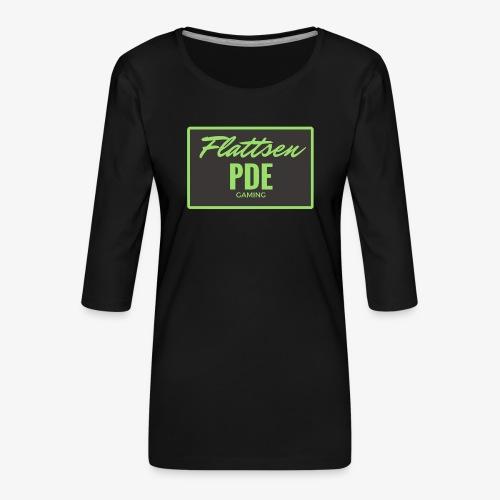 Flattsen - Frauen Premium 3/4-Arm Shirt
