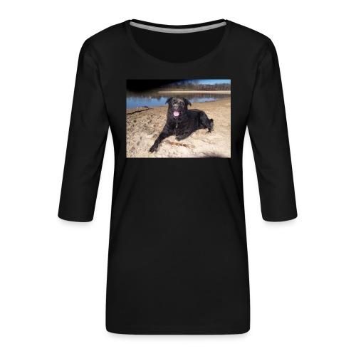 Käseköter - Women's Premium 3/4-Sleeve T-Shirt