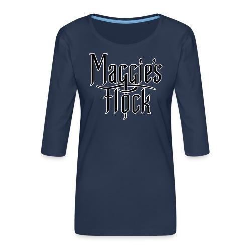 Maggie's Flock - Vrouwen premium shirt 3/4-mouw