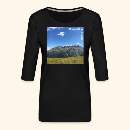House of Dao - Top of Mountain View - Frauen Premium 3/4-Arm Shirt