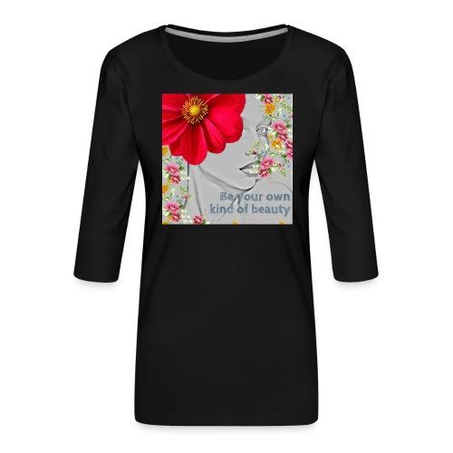 Girly - T-shirt Premium manches 3/4 Femme