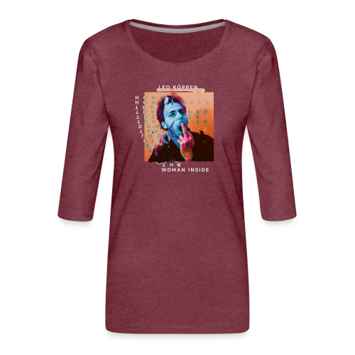SHIRT4 - Frauen Premium 3/4-Arm Shirt