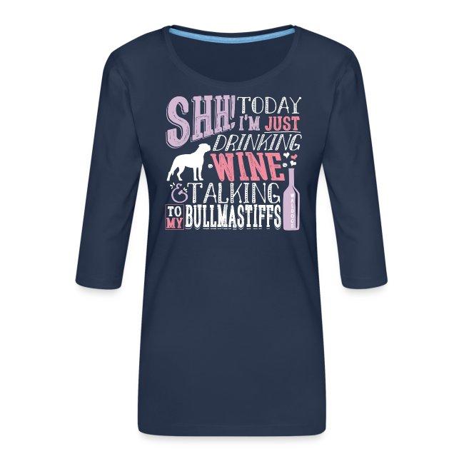 SHH Bullmastiff Wine