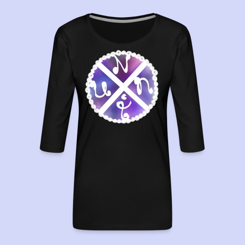 Nuni! cross, NuniDK Collection - Female top - Dame Premium shirt med 3/4-ærmer