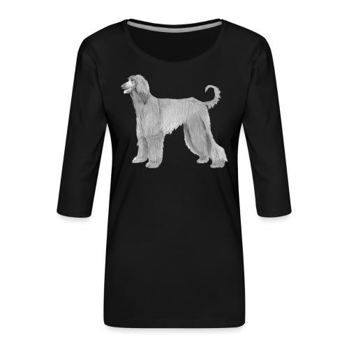 afghanskMynde - Dame Premium shirt med 3/4-ærmer
