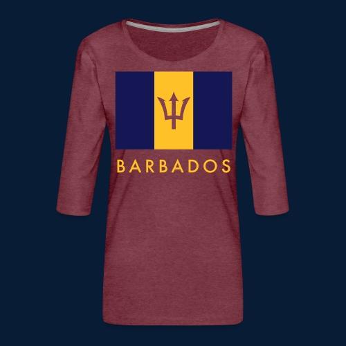 Barbados - Frauen Premium 3/4-Arm Shirt