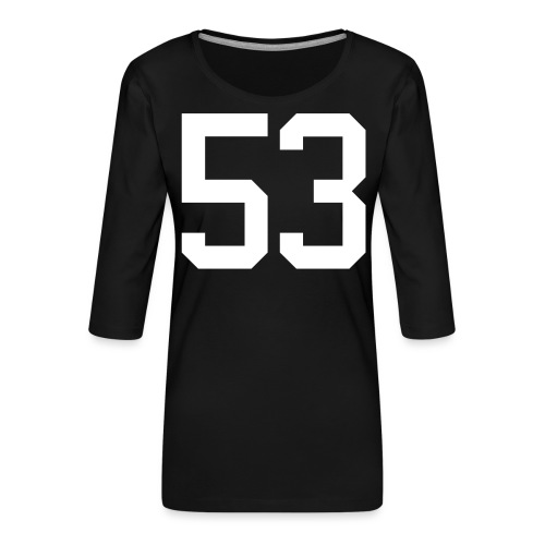 53 VOIT Christoph - Frauen Premium 3/4-Arm Shirt
