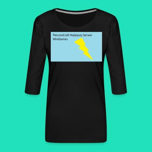 Piorunowe Na Telefon 5s - Koszulka damska Premium z rękawem 3/4