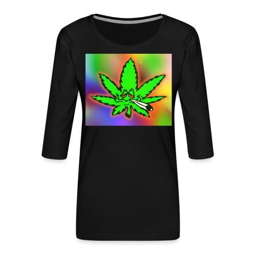 best weed - Naisten premium 3/4-hihainen paita