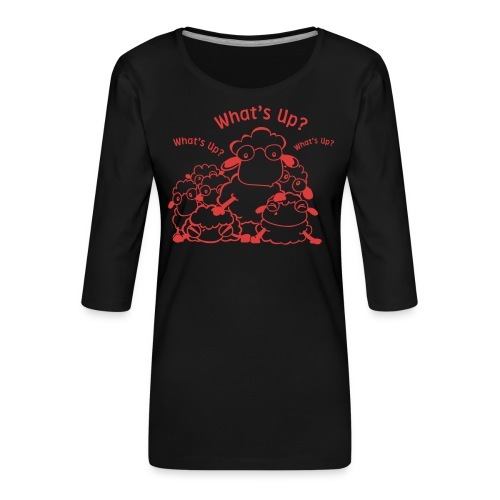 yendasheeps - Vrouwen premium shirt 3/4-mouw