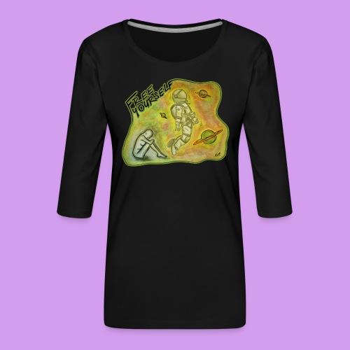 Katt Willow - Women's Premium 3/4-Sleeve T-Shirt