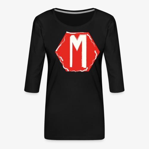 MNNG V1 - Vrouwen premium shirt 3/4-mouw