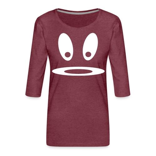 Glotzi w - Frauen Premium 3/4-Arm Shirt