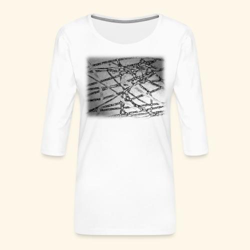 Muster15.png - Frauen Premium 3/4-Arm Shirt
