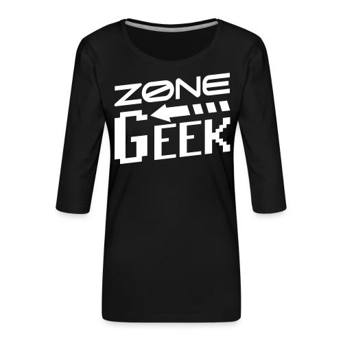 NEW Logo Homme - T-shirt Premium manches 3/4 Femme